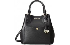 Michael Kors Greenwich medium saffiano leather satchel